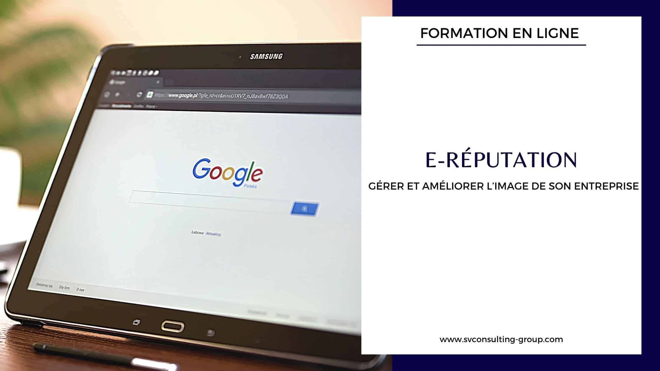 Formation - E-reputation Fidélisation clientèle - SV Consulting